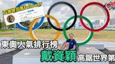 【東京奧運】IG激增近百萬粉絲 戴資穎人氣排世界第3