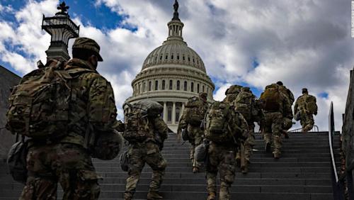 FBI vetting National Guard members involved in securing US Capitol