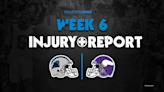 Panthers Week 6 injury report: RB Christian McCaffrey out vs. Vikings