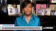 Mayor Keisha Lance Bottoms: More concerned about Biden winning than VP speculation