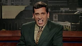 That Time Steve Carell's Head Was Set on Fire – Literally – for 'Bruce Almighty' (Video)