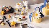 萬豪酒店x浪琴表推出「月相星辰」聯名下午茶!將Master巨擘月相腕錶造型融入甜點,獻上優雅午後時光