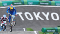 Olympics-Cycling-Pajon and Fields safely through to BMX semis