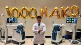 AHN Orthopaedic Institute celebrates 2,000th robotic arm-assisted surgery