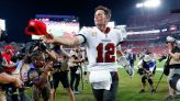Tom Brady gives hat to young Buccaneers fan who thanked QB for inspiring him to beat brain cancer