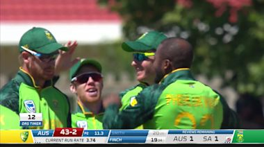 South Africa complete ODI series whitewash of Australia