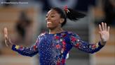 Simone Biles flipping into Charlotte for gymnastics tour