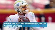 Los Angeles Chargers 2021 NFL schedule