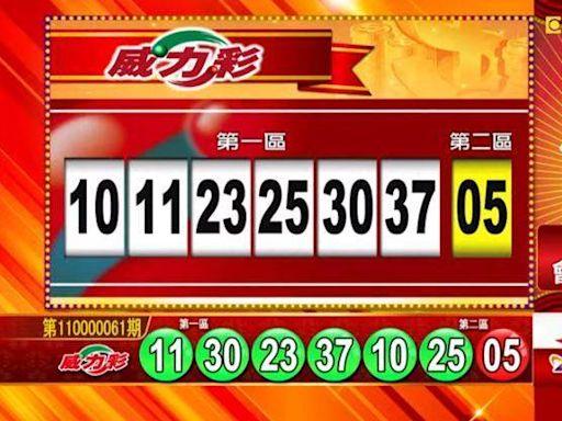 8/2 威力彩、雙贏彩、今彩539 開獎囉!