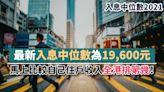 入息中位數2021丨最新入息中位數為19,600元 馬上比較自己住戶收入全港排第幾!