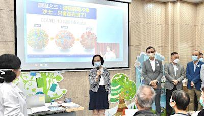 食物及衞生局局長呼籲市民接種新冠疫苗和流感疫苗以建立雙重保護(附圖)