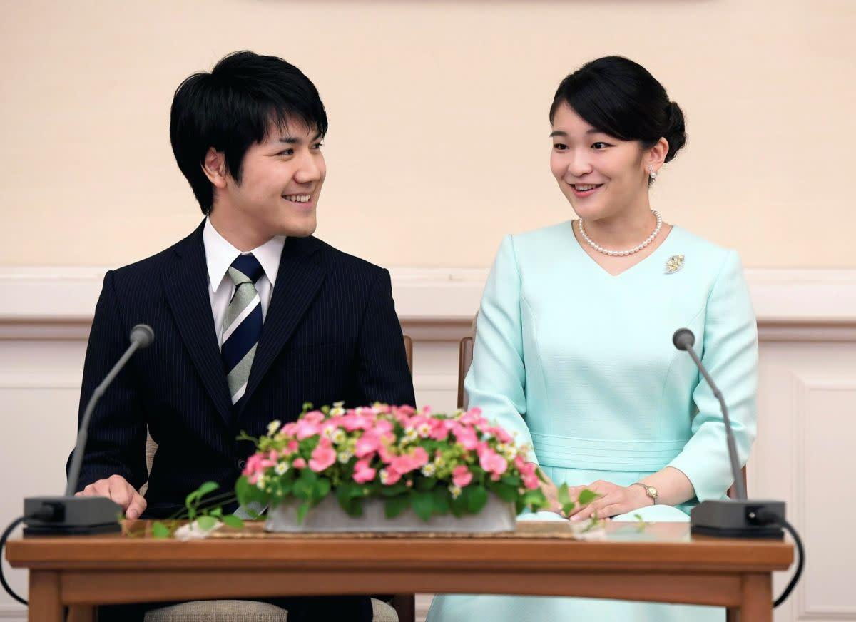 真子公主與小室圭