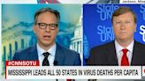 'Your Way Is Failing': Jake Tapper Grills Mississippi Gov. On COVID-19 Strategy