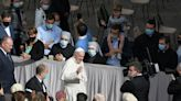 Pope's joy as he resumes audience with public