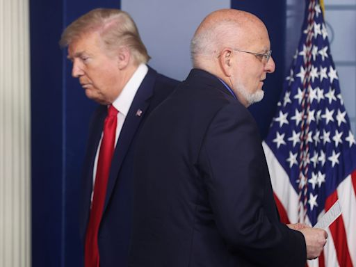 CDC director Robert Redfield 'prayed' Trump would understand how serious COVID-19 was after contracting it, a book excerpt says