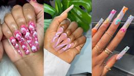 60 Cute Acrylic Nail Ideas for Every Season