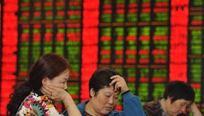 大陸滬指深成指下挫 3567隻股票下跌