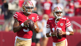 49ers' Kyle Shanahan defends not playing Trey Lance for 'experience'