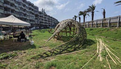 翻轉「鬼屋」負面印象 新北石門海灣新城打造公共藝術