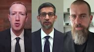 'Yes or no?' Tech CEOs grilled on misinformation