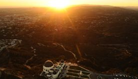 Griffith Observatory: Take a picnic, take a pal. Just remember, we are all stardust