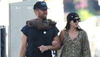 Dakota Johnson and Chris Martin Vacation in Spain