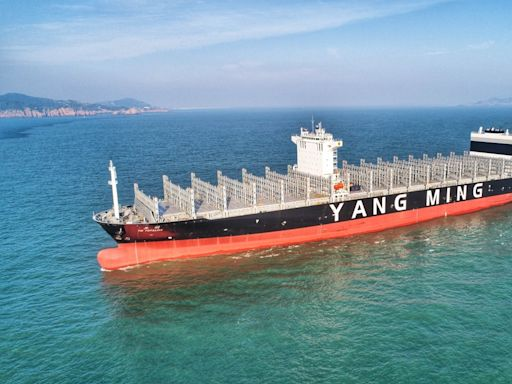 海運美國線長約調漲1550美元 法人上調陽明、長榮獲利「上船賺一波!」