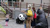 北市動物園重新迎客 大貓熊館暫不開放 (圖)