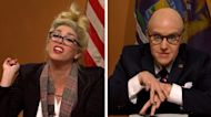 SNL vs. reality: Giuliani and the Michigan hearing