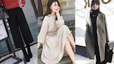 冬日穿搭推薦TOP8♡氣質暖心大衣、柔軟修身針織、顯瘦下著…跟著穿不出錯,還能一路時髦到春天!