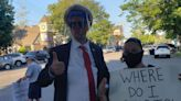 Trump Protesters Turn Out In Hamptons To Demand Change