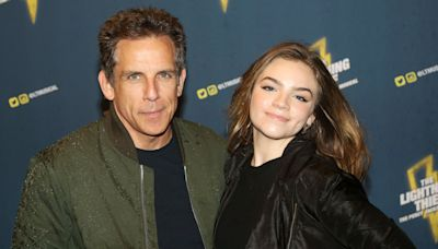 Ben Stiller and Daughter Ella Olivia, 17, Have a Broadway Night Out at Musical Opening