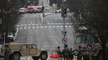 Man arrested at DC checkpoint with loaded handgun and 'unauthorised' inauguration credentials