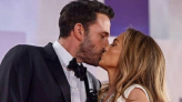 Ben Affleck Can't Help But Drool Over His Girlfriend Jennifer Lopez During Premier of 'The Last Duel' - Daily Soap Dish