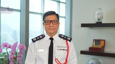 鄧炳強指警方國安處至今拘捕約一百人當中逾半已被檢控 - RTHK