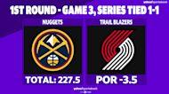 Betting: Nuggets vs. Trail Blazers   May 27