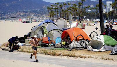 Gavin Newsom invites world's homeless to California