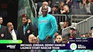 Michael Jordan, Denny Hamlin team up to start NASCAR team