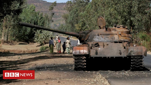 Ethiopia's Tigray crisis: Rebels vow to fight on until blockade ends