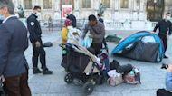 Migrant camp outside Paris City Hall evacuated