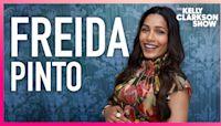 Freida Pinto Had To Wear A Corset While Pregnant