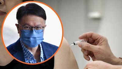 長者或可同時接種新冠及流感疫苗 許樹昌:左右兩邊各打一針