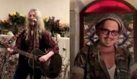 Patti Smith Sings to Johnny Depp For His Birthday: Watch