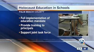 Holocaust education in Palm Beach County schools