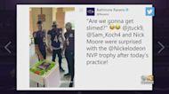 Justin Tucker Named Nickelodeon's NVP