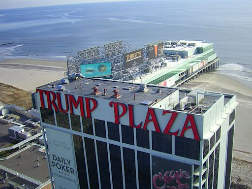 Crumbling Trump Plaza in Atlantic City to be blown up in February; auction launched for demolition 'viewing party'
