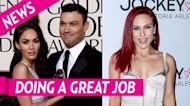 Megan Fox Reacts to Ex Brian Austin Green's Kissing Pic With Sharna Burgess