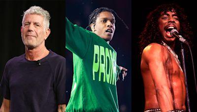 Tribeca to Premiere Films on Anthony Bourdain, A$AP Rocky, Rick James