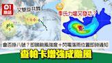 查帕卡增強成颱風!3號風球日間維持 會否掛八號要看這些關鍵!