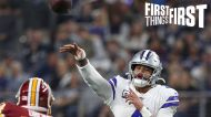 Brian Westbrook: Dak Prescott wants to play for the Cowboys; talks JJ Watt's path to Super Bowl | FIRST THINGS FIRST